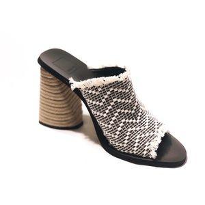 Dolce Vita Alba Braided Heel Mule Sandals